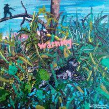 "Mahmoudreza Zandpour, From ""Called Again"" Series, Acrylic on Canvas, 30 x 30 cm, 2016"