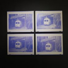 """Emad Anooshirvani, untitled, from """"Funeral for One, Two, or Three Possibly Dead Bodies"""" series, (lithographic, zinc plate), unique editions, each: 40 x 51 cm, 2019"""