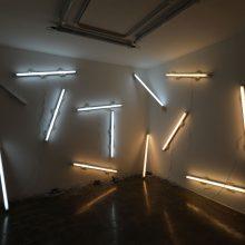 Omid Mehdizadeh, light installation, 2019