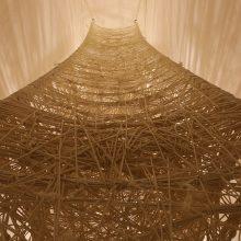 "Amir Mobed, ""Disformission""(detail), installation at Pasio, 2018"