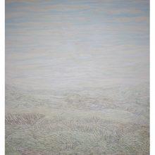 """Iman Ebrahimpour, """"Deylaman"""", mixed media on canvas, 230 x 200 cm, 2019"""