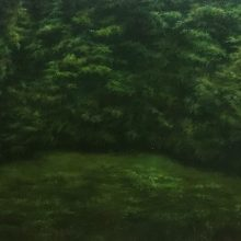 Marjan Hoshiar, untitled, oil on canvas, 30 x 40 cm, 2018