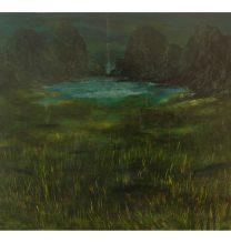 Untitled. oil on cardboard . 36.5 x 45.5 cm . 2016