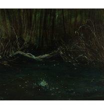 Untitled. oil on cardboard . 15.5 x 23 cm . 2016
