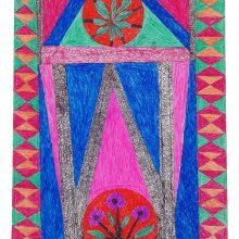 Salim Karami, untitled, pen on paper, 50 x 31 cm, unique edition