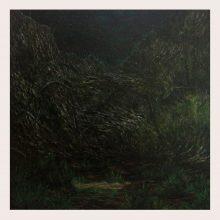 Milad Jahangiri, untitled, oil on canvas, 63.5 x 63 cm, 2019