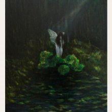Milad Jahangiri, untitled, oil on canvas, 52.5 x 44.5 cm, 2019