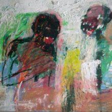 Maede Salar, untitled, mixed media, 34 x 42 cm, 2018