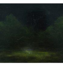 Untitled. oil on cardboard . 22.5 x 25.5cm . 2016