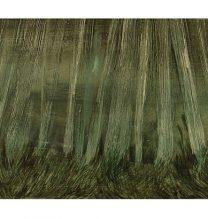 Untitled. oil on cardboard . 8.5 x 26.5 cm . 2015