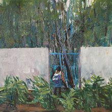 Abbas Nasl Shamloo, Untitled, Watercolor on Cardboard, 56 x 46 cm, 2013