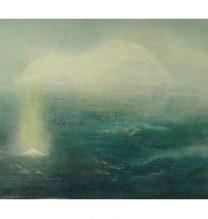 Untitled. oil on cardboard . 13.5 x 27.5 cm . 2016