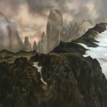 Marjan Hoshiar, untitled, oil on canvas, 70 x 90 cm, 2019