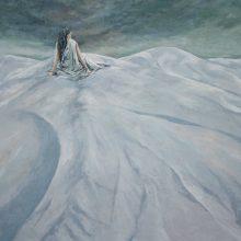 Mahmood Haqverdilo, untitled, oil on canvas, 115 x 143 cm, 2019