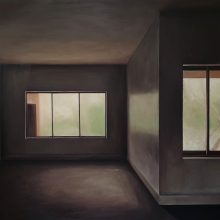 "Shana Abdollahian, untitled, from ""Whispering Memories, series, oil on canvas, 140×210 cm, 2020"
