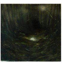 Untitled. oil on cardboard . 17 x 16 cm . 2016