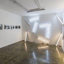 """Omid Mehdizadeh, """"Hideousness"""", installation view, 2019"""