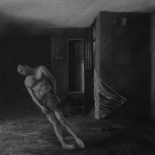 Mahmood Haqverdilo, untitled, pencil on paper, 50 x 70 cm, 2015