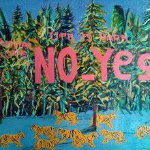 "Mahmoudreza Zandpour, From ""Called Again"" Series, Acrylic on Canvas, 50 x 60 cm, 2016"