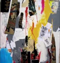 4.Untitled | 2012 |Mixed Media on Canvas |195X145 CM.,mmmmm