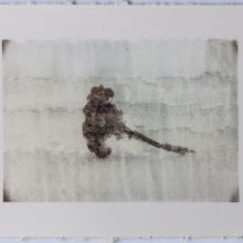 """Sasan Abri, """"Expedition No.3, from """"Expedition"""" series, image transferred on paper, 22 x 29 cm, unique edition, 2019"""