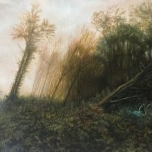 Marjan Hoshiar, untitled, oil on canvas, 35 x 45 cm, 2018