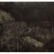 Milad Jahangiri, untitled, pencil on cardboard, 48 x 64.5 cm, 2018