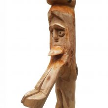 Abolfazl Amin, untitled, wood, 29 x 14 x 7 cm, unique edition, 2020