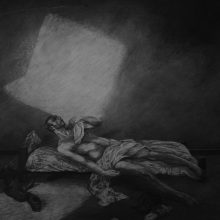 Mahmood Haqverdilo, untitled, pencil on paper, 70 x 100 cm, 2015