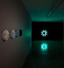 "Ali Honarvar, ""Self Portrait"", Installation View, 2018"