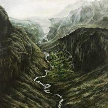 Marjan Hoshiar, untitled, oil on canvas, 40 x 30 cm, 2018