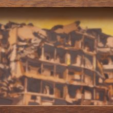 Seyed Mohamad Mosavat, Untitled, Mixed Media, 140 x 120 cm, 2010