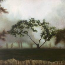 Marjan Hoshiar, untitled, oil on canvas, 30 x 40 cm, 2017
