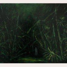 Milad Jahangiri, untitled, oil on canvas, 32 x 41 cm, 2019