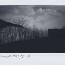 "Mehrdad Afsari, untitled, from ""Past Indefinite Tense"" series, polaroid photo, 8.5 x 10.5 cm, frame size: 25 x 25 cm, unique edition, 2019"