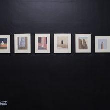 """Abolfazl Harouni, """"Episode 05"""" group exhibition, installation view, 2020"""