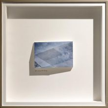 """Mehdi Abdolkarimi, from """"Among Highways"""" series, pigmented inkjet print-mounted on fragmented geographic mount, 8 x 12 x 2 cm, edition of 7, 2015"""