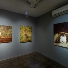 "Iman Ebrahimpour, ""A Duo Exhibition by Iman Ebrahimpour and Milad Jahangiri"", installation view, 2020"
