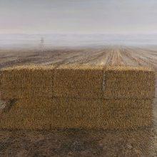 "Hosein Mohamadi, ""The Brave II (In Struggle)"", from ""Yazashn"" series, acrylic on canvas, 150 x 200 cm, 2021"