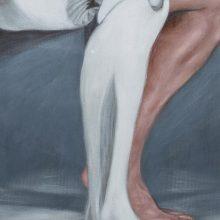 Alireza Rajabi, untitled, acrylic on canvas, 80 x 50 cm, 2018
