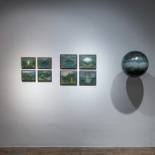 "Samaneh Salehi Abri, ""Episode 06"" group exhibition,installation view, 2020"