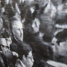 """Mahsa Parvizi, """"The Father"""" (detail), installation at Hayat, 2020"""
