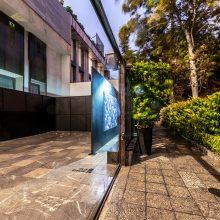 """Mahsa Parvizi, """"The Father"""", installation at Hayat, 2020"""
