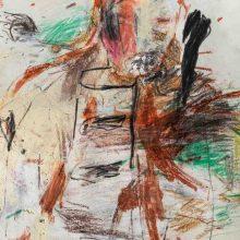 Maede Salar, untitled, mixed media, 43 x 34 cm, 2017