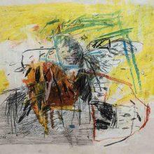 Maede Salar, untitled, mixed media, 41 x 50 cm, 2018