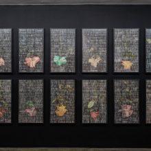 "Sasan Abri, ""Upside Down"" series, Factory 03, installation view, 2020"