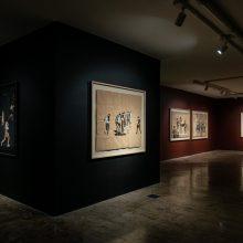 """I Will Return"" series, installation view, 2020"