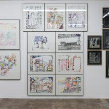 Mohammad Banissi , Outsider Art Festival, Installation View, 2021