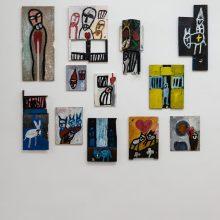 Jamshid Aminfar, Outsider Art Festival, Installation View, 2021