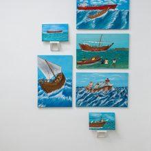 Nakhoda Abdolrasoul Gharibi, Outsider Art Festival, Installation View, 2021